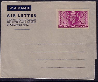 Olympic Games airletter